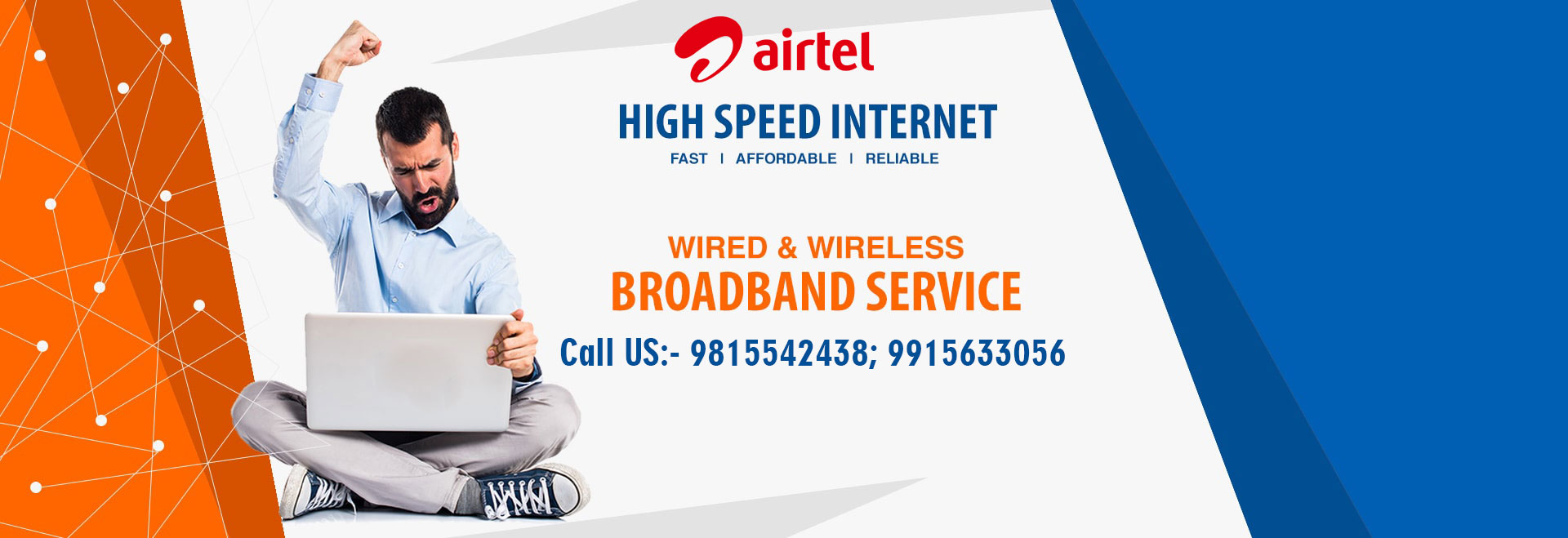 Airtel Broadband Connection Chandigarh