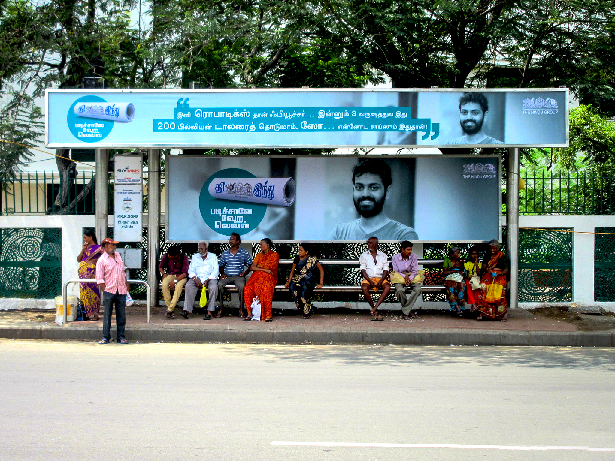 Bus shelter agency in chennai