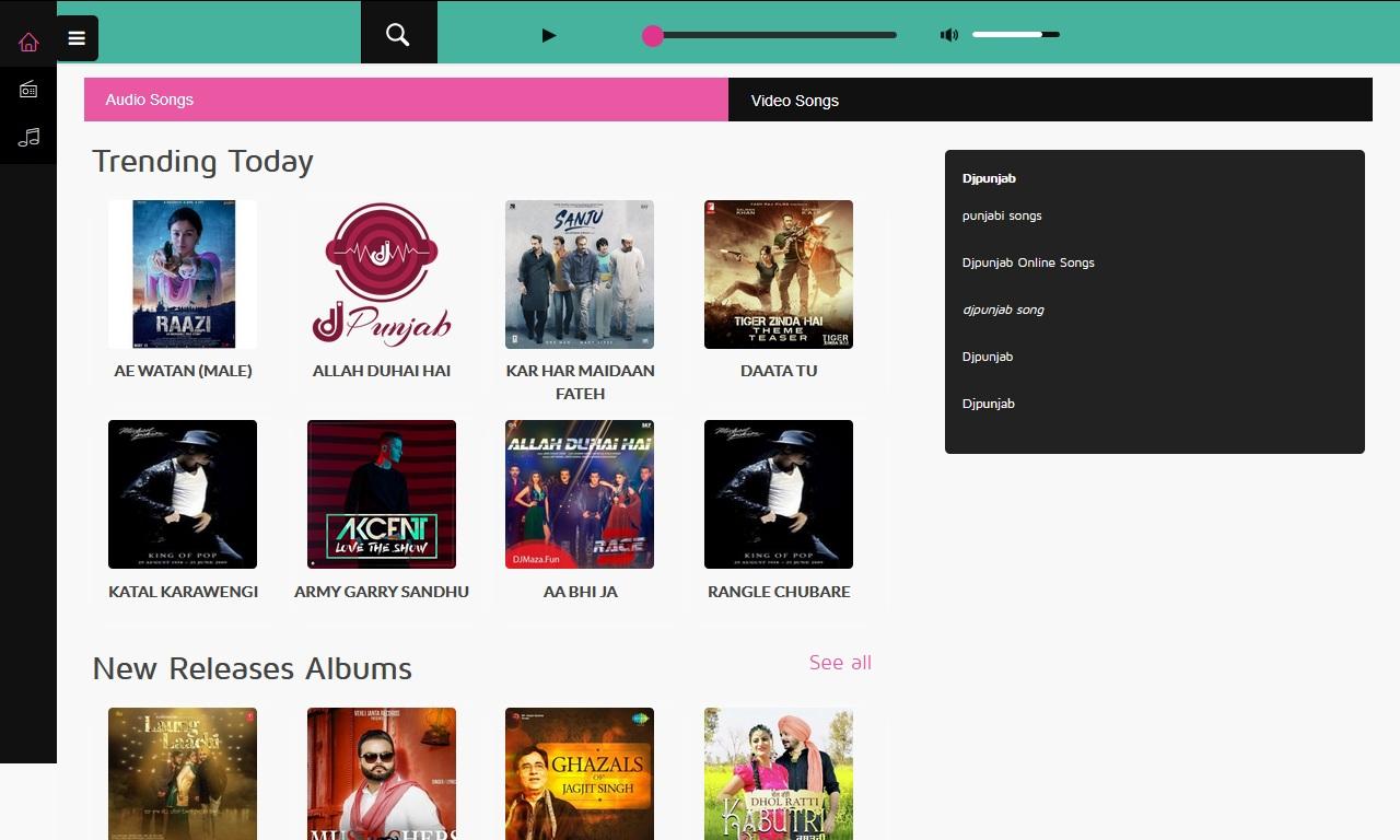 Djpunjab com  hindi songs