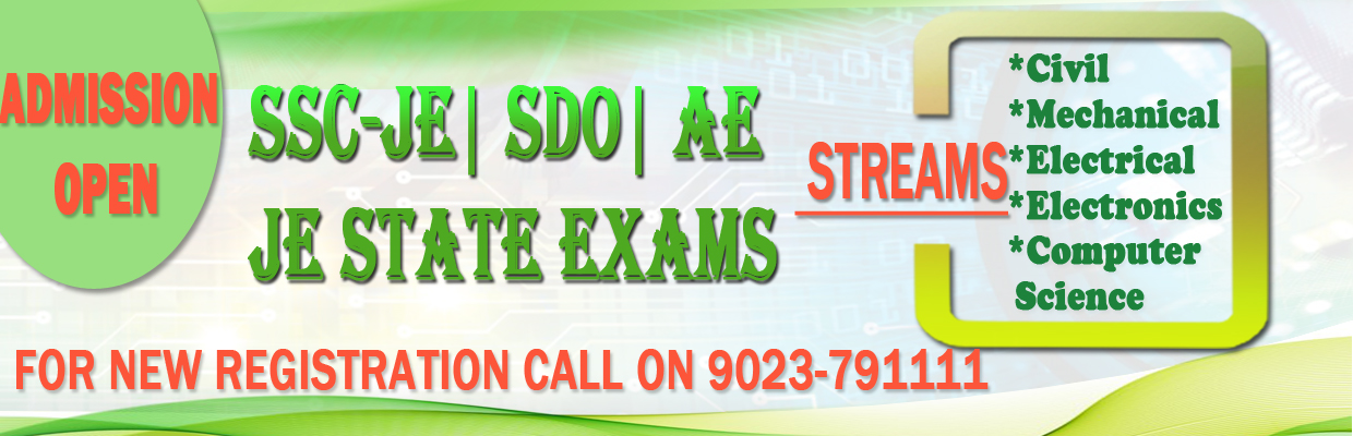 SSC Best JE Coaching Center in Delhi