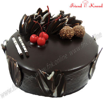 Online New Year Cakes Coimbatore - Friend In Knead