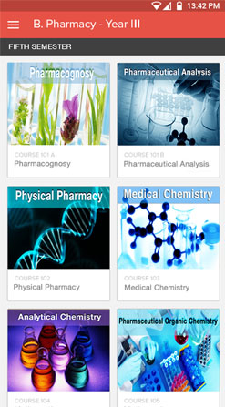 B.pharmcy online lectures