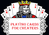 Playing Cards for Cheaters